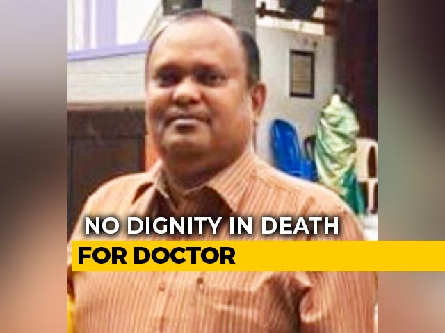 Video : Tamil Nadu Doctor Buries Colleague After Mob Attack Over COVID-19 Fears