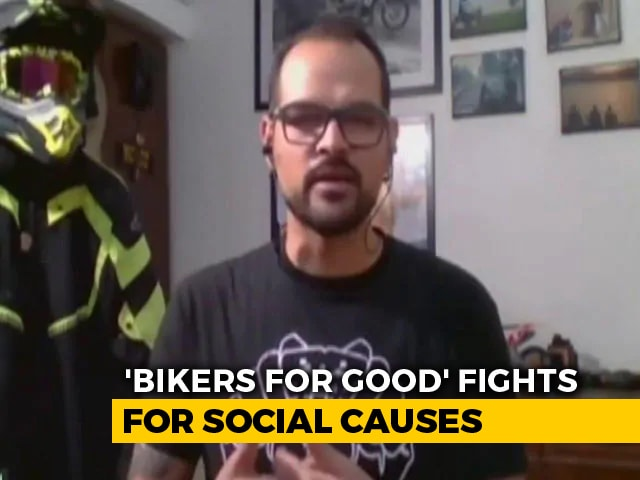 Video: 'Bikers For Good' Is Generating Awareness About Handwashing