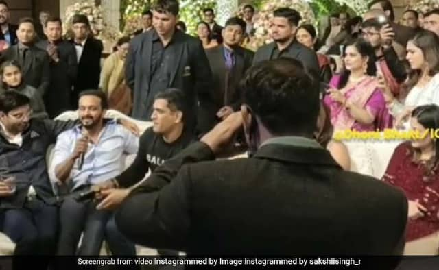 Throwback Video of Dhoni ans Kedar Jadhav During At Family Function