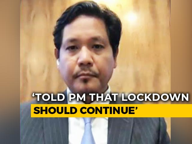 Video : Need Strict Laws In COVID-19 Red Zones: Meghalaya Chief Minister