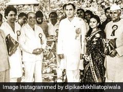 पूर्व पीएम राजीव गांधी के साथ नजर आईं 'रामायण' की 'सीता', Photo शेयर कर बोलीं- यह पहली बार था जब...