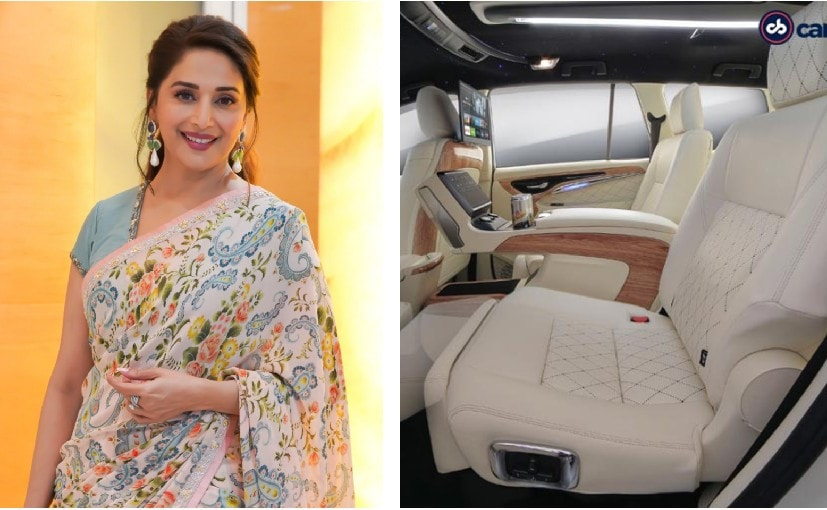 The DC Innova Crysta for Madhuri Dixit Nene took four months to be completed and is sheer opulence