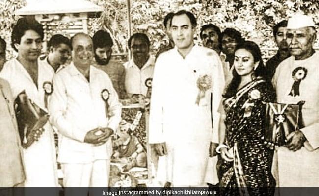 রাজীব গান্ধির সঙ্গে রাম-সীতা জোড়ি! সোশ্যালে দিতেই 'ইতিহাস' গড়ল ছবি