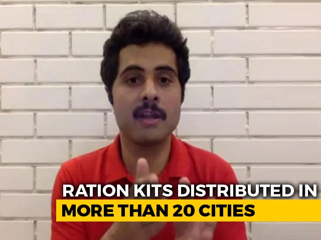 Video : Zomato's 'Feed The Daily Wager' Provides Relief To The Needy Amid Current Lockdown