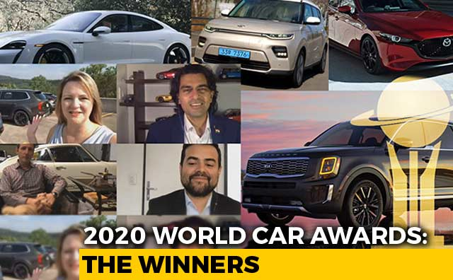Video : 2020 World Car Awards: The Winners