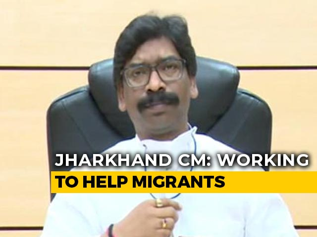 Video : 7 Lakh Labourers From State Stuck Across Country: Jharkhand Chief Minister Hemant Soren
