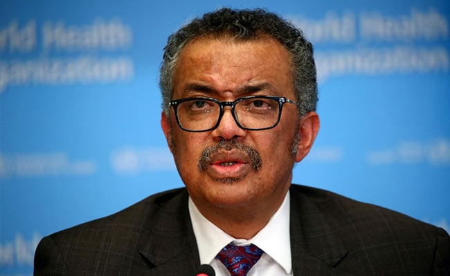 WHO Chief Tedros Adhanom Ghebreyesus Plans To Seek Second Term: Report