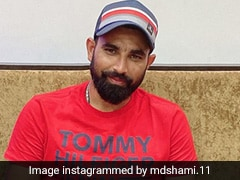 "Watch: Mohammed Shami Tries Hand At Sketching, Proclaims Himself As ""The Artist"""