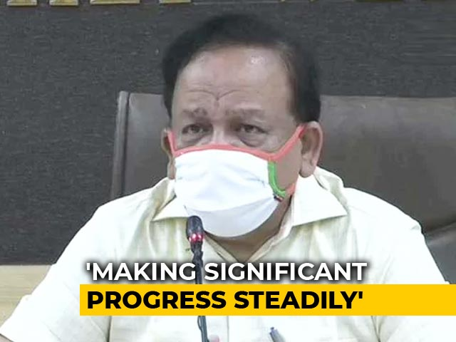 Video : No COVID-19 Fresh Case In 80 Districts Since A Week, Says Harsh Vardhan
