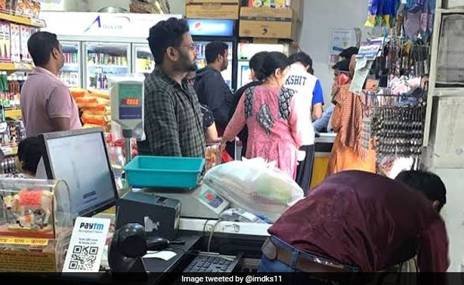 Panic Buying In Noida After UP Announces Sealing Of Virus Hotspots