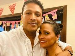 "Lara Dutta's Quarantine Birthday Done Right. Mahesh Bhupathi Shares Pics From The ""Virtual"" Party"