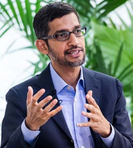"""My Father Spent A Year's Salary On My Plane Ticket To US"": Sundar Pichai"