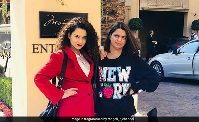 Kangana Ranaut's Sister Rangoli Chandel's Twitter Account Suspended After Celebs Report Tweet