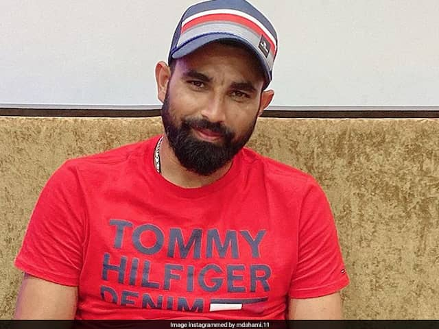 """Watch: Mohammed Shami Tries Hand At Sketching, Proclaims Himself As """"The Artist"""""""