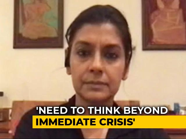 Video : The Visuals Of Migrants On Roads Are Heartbreaking: Nandita Das