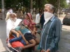 इंदौर: तीन अस्पतालों के चक्कर काटने के बाद भी रोगी को नहीं मिली एम्बुलेंस, एक्टिवा में ले जाते हुए मौत