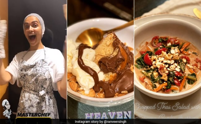 Deepika Padukone Turns 'Masterchef' For Ranveer Singh, Makes Yummy Asian Dinner thumbnail
