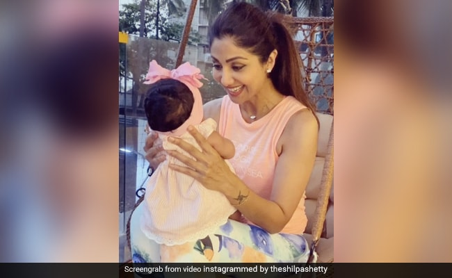 Shilpa Shetty's Daughter Samisha Is One Of Her 15 Million Reasons To Smile thumbnail
