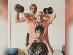 """Ages """"9 To 90,"""" It's Fitness First For Everyone In Ranvir Shorey's Family"""
