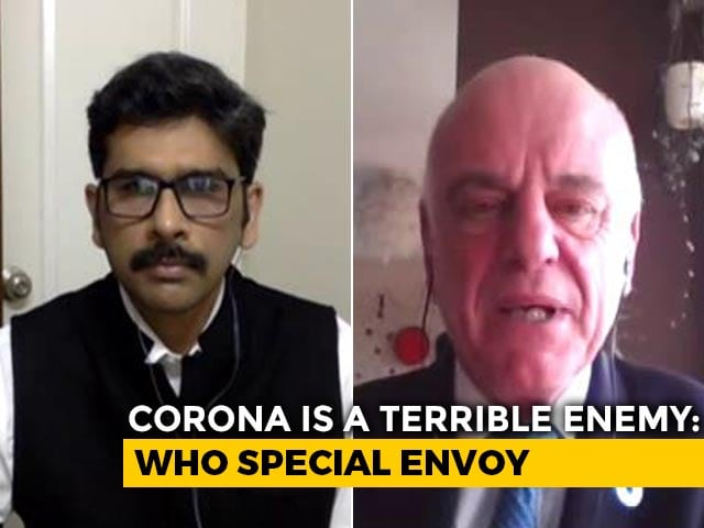 """Video : """"India's Response To COVID-19 Quick,"""" WHO Special Envoy Tells NDTV"""