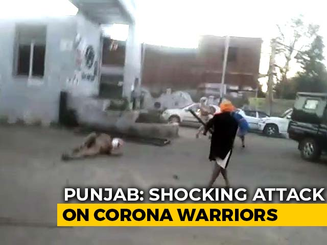 Video : Punjab Cop's Hand Chopped, 2 Injured In Attack By Group Defying Lockdown