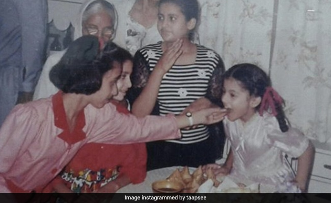 Taapsee Pannu Is Thankful That This Thing From Her Childhood Fashion Has 'Vanished'