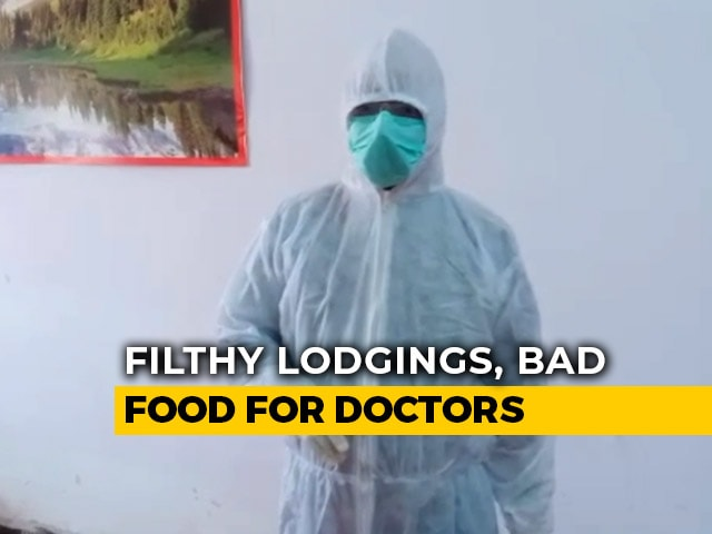 Video : Fans, Toilets Don't Work: UP Doctors Release Videos, Government Acts