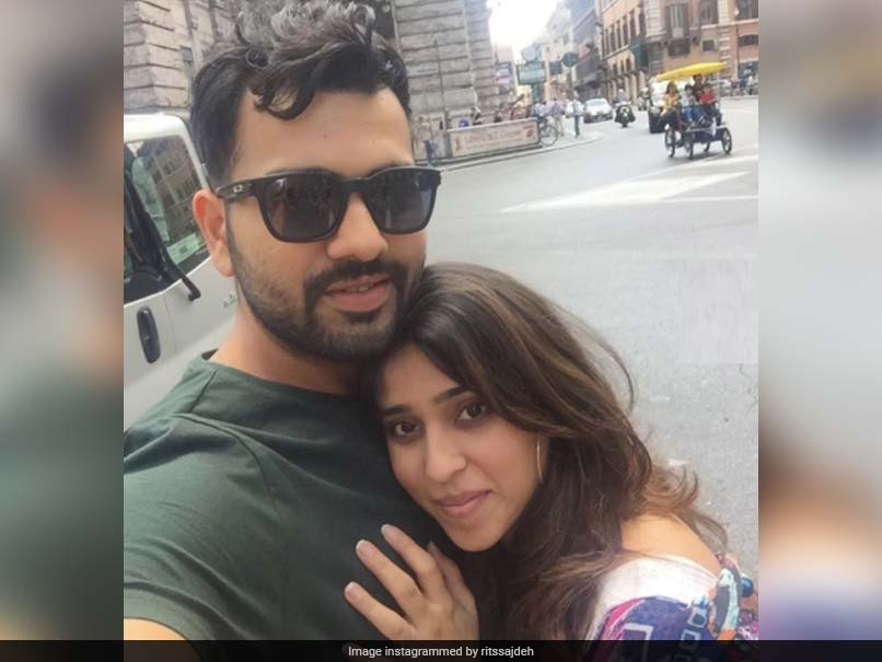 """Love You Ro"": Ritika Sajdeh Posts Heart-Warming Birthday Wish For Rohit Sharma. See Pics"