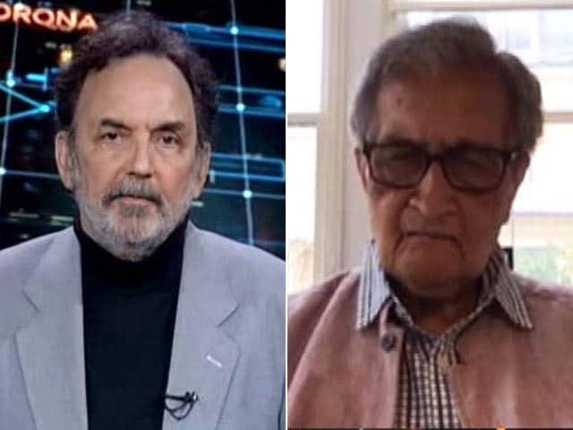 Video : 'War Analogy Bad One': Amartya Sen On COVID-19 Lockdown