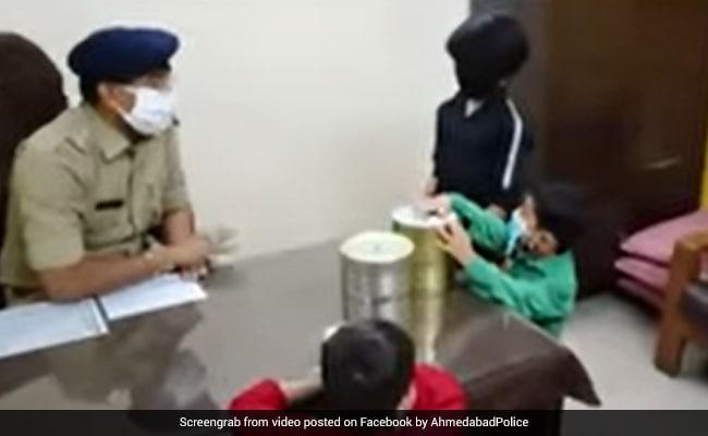 Children In Gujarat Donate Piggy Bank Savings To Help Fight COVID-19