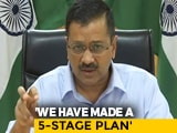 "Video : Arvind Kejriwal Says Ready With ""5T Plan"" To Counter COVID-19 In Delhi"