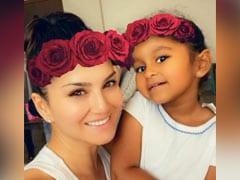 सनी लियोन ने बेटी के साथ शेयर किया यह Cute Video, कहा...