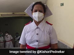 Mumbai Mayor Dons Her Old Nursing Uniform To Motivate Corona Warriors