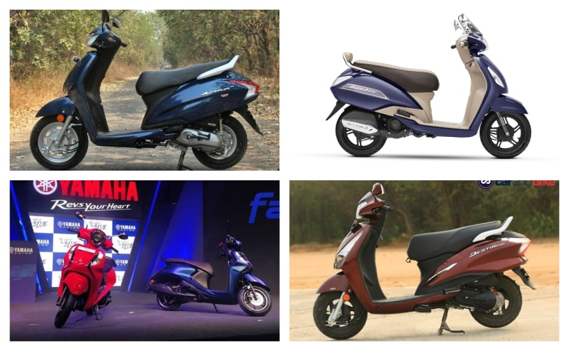Scooters are comfortable, practical and easy to ride