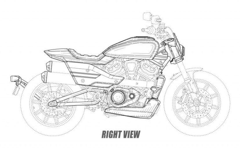 Harley-Davidson design drawings reveal flat-track inspired model and cafe racer