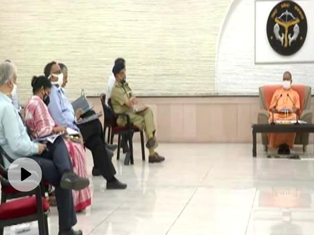 CM योगी आदित्यनाथ ने कोरोना वायरस संक्रमण से बचाव के लिए लगातार जागरुकता फैलाने के निर्देश दिए