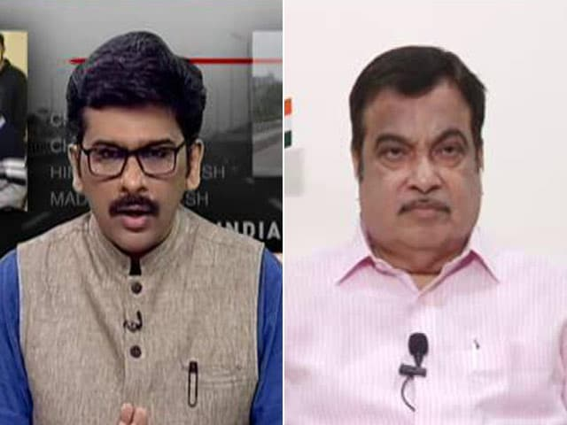 Video : World Looking Away From China, It's Blessing For Us: Nitin Gadkari To NDTV