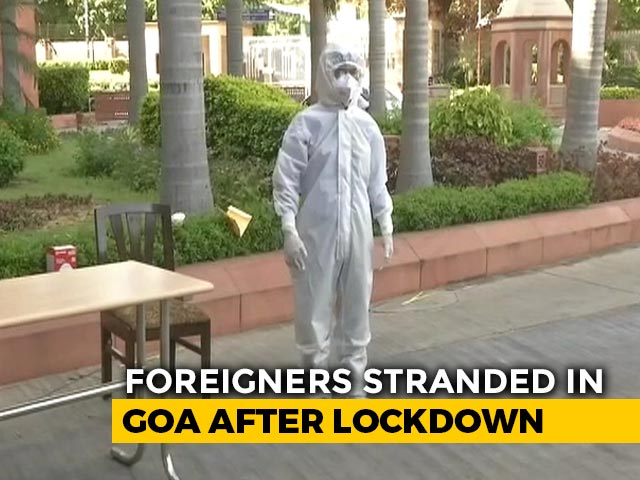 Video : Coronavirus - 1,000 Stranded Foreigners To Be Evacuated From Goa Over The Weekend