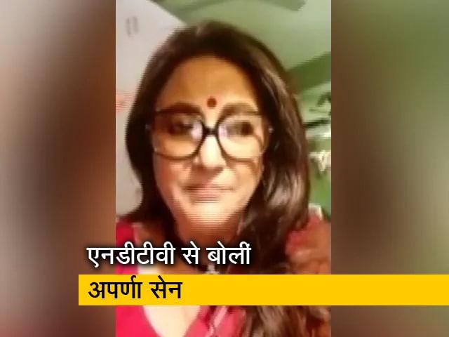 Videos : कोरोना के खिलाफ लड़ाई में स्वच्छता की अहम भूमिका: अपर्णा सेन