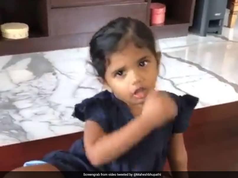 """Coronavirus Go"": Adorable Video Of Mahesh Bhupathis Niece Will Melt Your Heart. Watch"