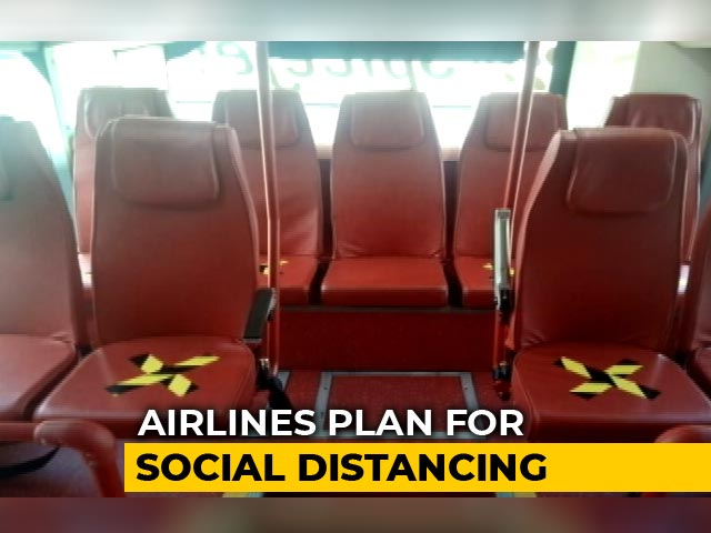 Video : SpiceJet Coach Pictures Give A Glimpse Of Air Travel Once Lockdown Ends