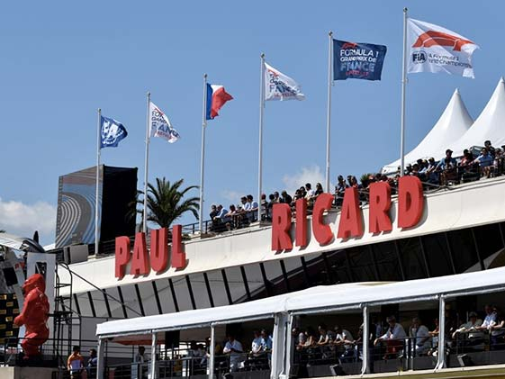 F1: French GP At Paul Ricard Could Have Thunderstorms