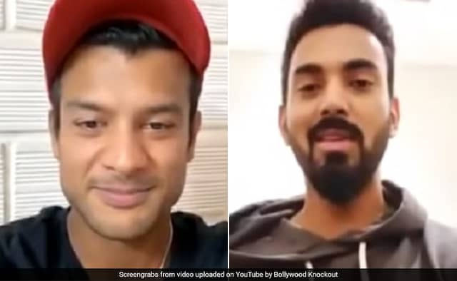 K L Rahul LIVE Instagram Chat With Mayank Agarwal watch viral video