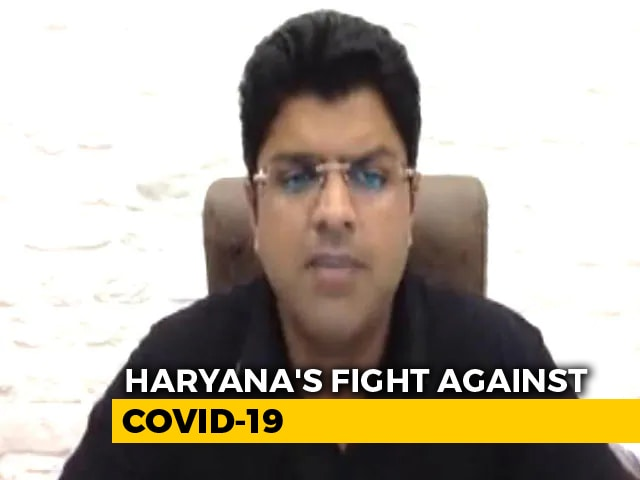Video : Haryana Is Leaving No Stone Unturned To Fight COVID-19: Dushyant Chautala