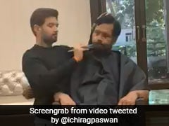 Salons Shut, Union Minister's Son Tweets Video Of Him Grooming Father