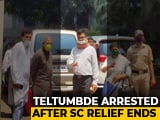 Video : Activist Anand Teltumbde Arrested By Probe Agency NIA In Elgar Parishad Case