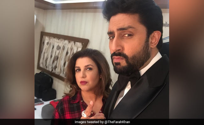 No One. Literally No One... Abhishek Bachchan Asks Farah Khan To Post Work-Out Video