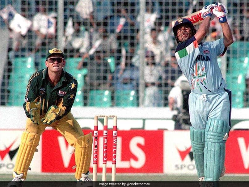 On This Day In 1998, Australia Were Blown Away By Sachin Tendulkars Desert Storm