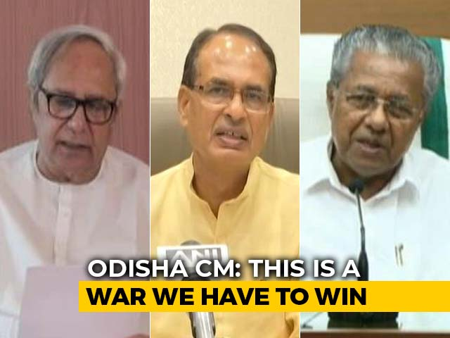 Video : 3 Chief Ministers On Their Fight Against The Coronavirus Pandemic
