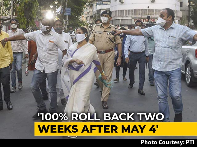 "Video : Citizen Mamata Banerjee Wants Lockdown Gone ""2 Weeks After May 4"""